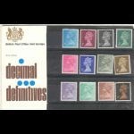 1971 Definitives Pack No. 26